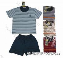 Pyžamo 3 | 4 krátke detské chlapčenské (98-128) C-LEMON CK0061