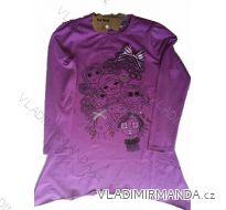 Tričko dlhý rukáv detské dievčenské (4-12let) FEI TENG C11