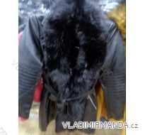 Bunda kabát dlhý koženkový s kožušinkou dámska (xs-xl) DD STYLE F673 ... adf6f5f5ca