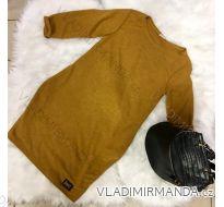 Šaty teplé dlhý rukáv dámske (uni sl) TALIANSKÁ MÓDA IMC181102