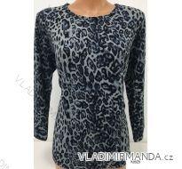 Tričko leopardí vzor dámske (L-3XL) Erbossi K9529