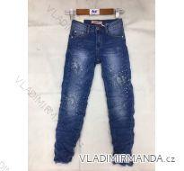 Rifle jeans slabé detské a dorost dívčí (8-16 LET) FaD MA3199061