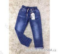Rifle jeans slabé jarné detské dorost chlapecké (8-18 LET) SAD MA319DT1038