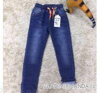Rifle jeans slabé jarné detské dorost chlapecké (4-12 LET) SAD MA319DT1045