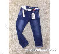Rifle jeans slabé jarné detské dorost chlapecké (8-18 LET) SAD MA319DT1036