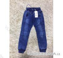 Rifle jeans slabé jarné detské dorost chlapecké (8-16 LET) SAD MA319KK958