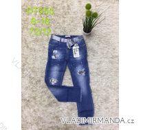 Rifle jeans slabé jarné detské dorost dievčenské  (8-18 LET) SAD MA319DT050
