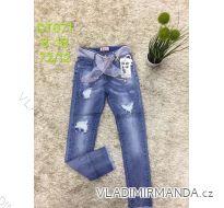 Rifle jeans slabé jarné detské dorost dievčenské  (8-18 LET) SAD MA319DT071