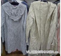 Cardigan pletený sveter dlhý rukáv dámsky (uni s / m / l) TALIANSKÁ MÓDA IMC172658