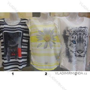 1f8ba5e0e92 Tričko krátky rukáv dámske bavlnené (sl) THE BEST turecká moda TT27
