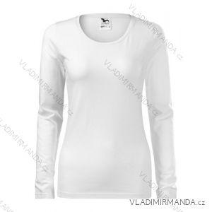 Tričko slim dlhý rukáv dámske (s-xxl) reklamný textil 139B