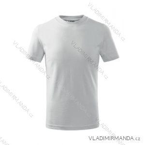 Tričko basic krátky rukáv detské dorast (110-146) reklamný textil 100B