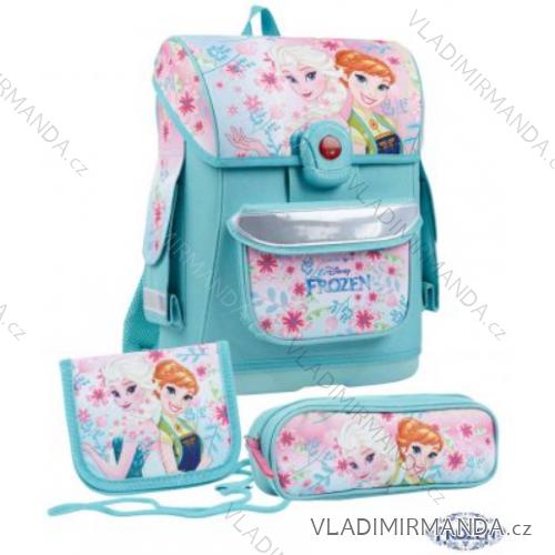 84d390c788 Školský set batoh + peračník + peňaženka na krk frozen detský dievčenský tv  mania 136821