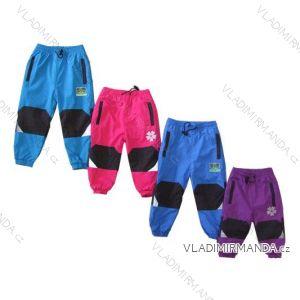 Nohavice šuštiakové teplé dojčenskej s flaušový podšívkou (68-92) KUGO H210