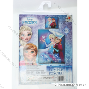 Obliečky frozen detské dievčenské (140 * 200cm; 70 * 90 cm) SETINO 710-148