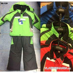 b592600d83291 Súprava zimná bunda, nohavice ski nepremokavé flaušová podšívka detský (98- 128) PENG