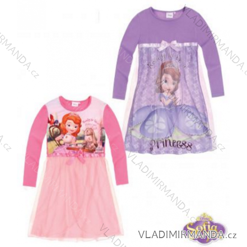 0953bb67f4db Nočná košeľa dlhá sofie prvá detská dievčenské (92-128) TV MANIA 119383