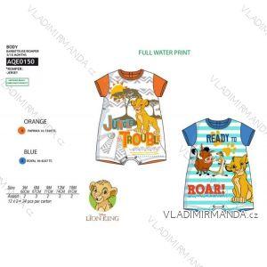 2e84c04cbef6 Body krátky rukáv leví kráľ dojčenskej chlapčenské bavlnené (3-18 mesiacov)  SUN CITY