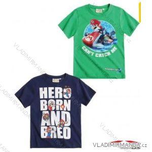 Tričko krátky rukáv super mario detskej a dorasteneckej chlapčenské  (104-140) TV MANIA a810c56ab1d