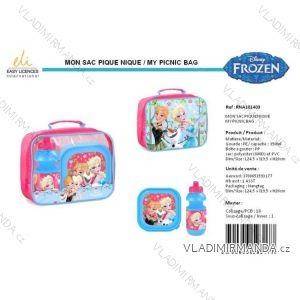 Sada Svačinová box fľaša frozen detská dievčenské SUN city rna101403