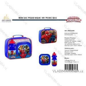 Sada Svačinová box fľaša spider-man detská chlapčenská SUN city spd101393