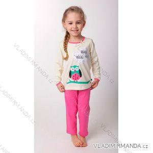 eb773fd2fe7c Pyžamo dlhé nohavice detské dievčenské (110-130) CALVI 14-526