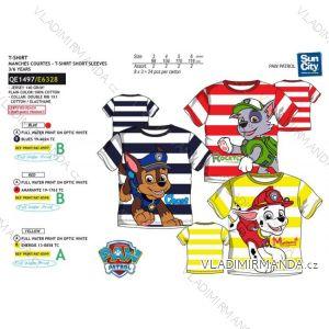 Tričko krátky rukáv paw patrol detské chlapčenské bavlnené (3-6 rokov) SUN CITY QE1497