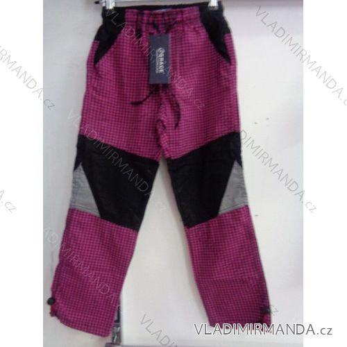a57e3cb342c2 Nohavice plátené tenké letné outdoor detské chlapčenské dievčenské (98-128)  GRACE 60150