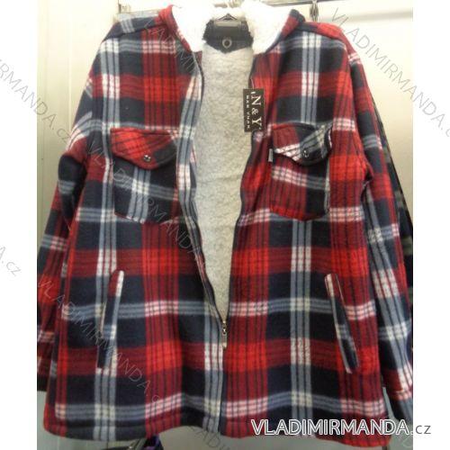 Košeľa zateplená baránkom s kapucňou pánska (m-3XL) NAN YUAN 6068 ... e367982b09