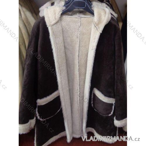 Bunda kabát zimná dámska s kožušinkou talianska moda IM2173015 ... 3c6cf03fb93