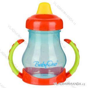 Netečúci hrnček BabyOno s mäkký náústníkem - 180ml, BPA free, 6m +. 207