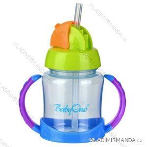 Hrnček so slamkou BabyOno - BPA free, 180ml, 6m +. 209