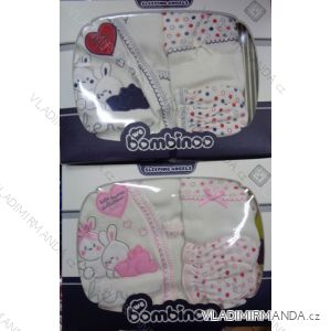 Komplet (5 ks) dojčenský dievčenský a chlapčenský (0-6 mesiacov) výroba v Turecku TUR417008