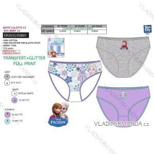 Nohavičky 3ks frozen dojčenské detské dievčenské (2-8 rokov) SUN CITY ER3035