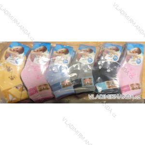 Ponožky teplé thermo dojčenské dievčenské a chlapčenské (0-24 m) AURA.VIA BO136