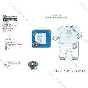 Body dlhý rukáv paw patrol dojčenskej chlapčenské bavlnené (6-24 mesiacov) SUN CITY HQ0055