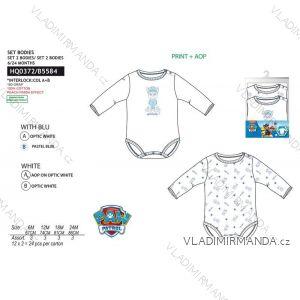 Body dlhý rukáv 2ks paw patrol dojčenskej chlapčenské bavlnené (6-24 mesiacov) SUN CITY HQ0372