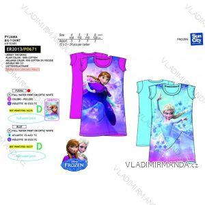 Košele nočné frozen detská dievčenské bavlnená (4-8 rokov) SUN CITY ER2013