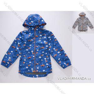 Bunda šušťáková jarná detská chlapčenská (92-122) WOLF B2861