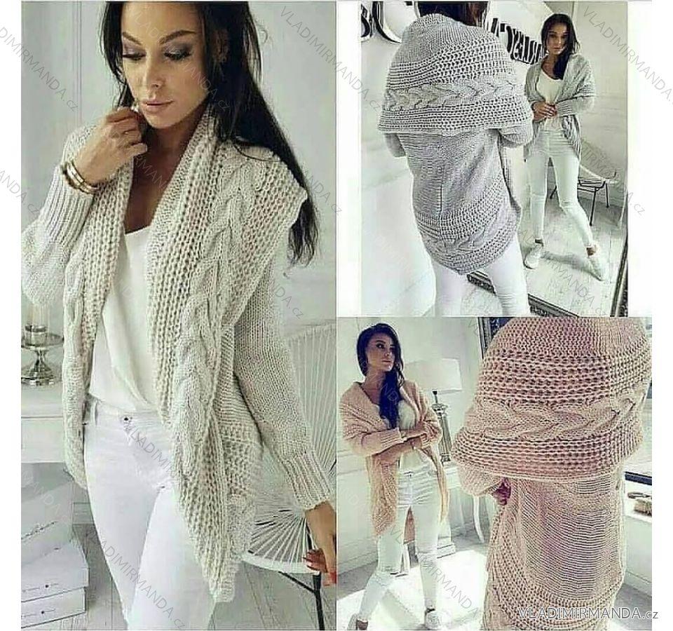 43c2e55cb Cardigan pletený sveter teplý dámsky (uni sl) Talianska MODA IMC18204