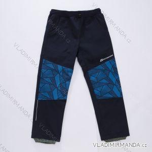 Nohavice softshell slabé detské dojčenské chlapčenské (86-110) WOLF B2883