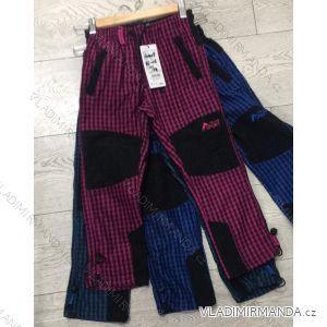 Nohavice manžestr bavlnené outdoor dojčenské detské dievčenské a chlapčenské (86-116) GRACE 60409