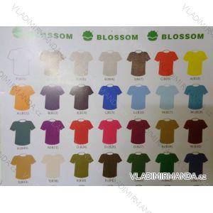 Tričko krátky rukáv dievčenské, chlapčenské, dorast, pánske, dámske bavlnené 110g (104-4xl) BLOSSOM BL15