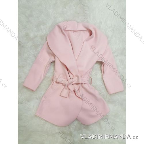61c00ee1ec Kabátik flaušový detský dorast dievčenské (4-12 rokov) Talianska Mladá móda  IMM28B35001