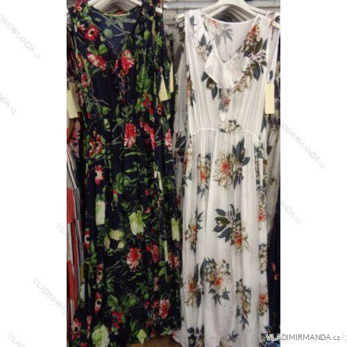 7e0c08207657 Šaty bez rukávov dlhé letné kvetované dámske (uni sl) Talianska MODA  IM718139