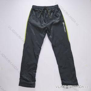 Nohavice šuštiakové slabé dorasteneckej chlapčenské bavlnená podšívka (140-158)  WOLF T2852 9fb73079127