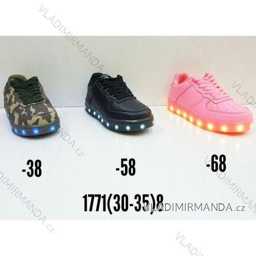 Tenisky botasky členkové svietiace dorast dievčenské (30-35) OBUV OBT181771    2 7ed8f62e972