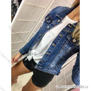 Bunda riflová jeans dámska (s-2xl) RE-DRESS GD2608-K