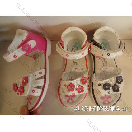 301ebe1e93c89 Sandále detské dievčenské (21-26) Linshu OBUV OBL181364 ...