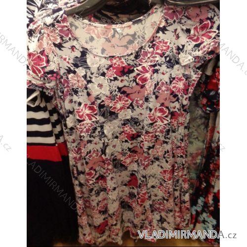 ca673d402edb Šaty krátky rukáv kvetované dámske (m-3XL) poľských výrobcov na PM218140